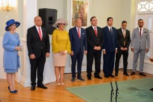 Gobernador Boekhoudt a huramenta Gabinete Wever Croes