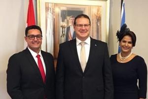 Minister Plenipotenciario Besaril y Parlamentario Ras a huramenta awe merdia