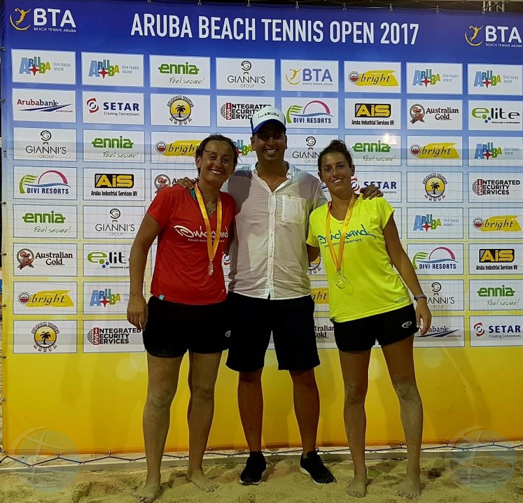 Italia ta domino durante ITF Aruba Open 2017