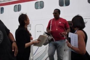 APA a ricibi e di 700 mil pasahero crucero den waf di Aruba