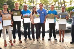 Hilton Aruba ta patrocina calendar Aruba Birdlife 2018