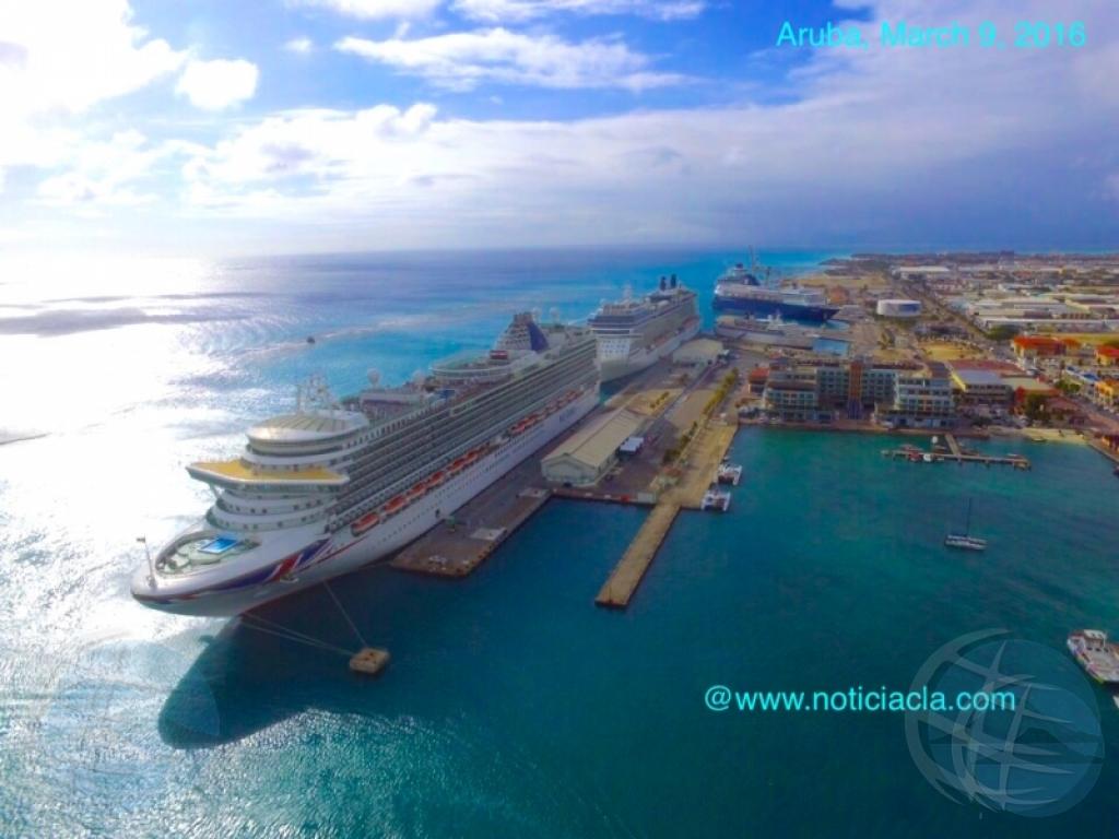 Cruise fever.net ta scoge Aruba den top 10 di waf turistico