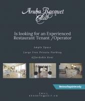 Aruba Racquet Club buscando operador pa restaurant
