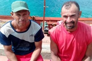 Polis maritimo a asisti Venezolanonan riba laman