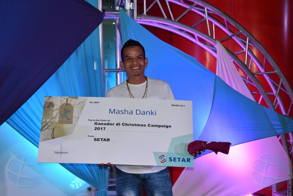 """SETAR ta anuncia ganadornan di """"Wish Tag"""" di SETAR"""