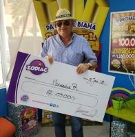 Zodiac merdia a parti tremendo premio di 105.000 florin