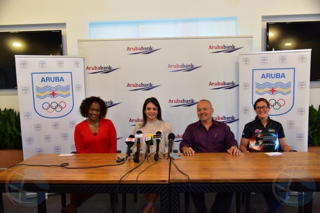 Aruba Bank y Comite Olimpico Arubano ta anuncia Aruba Bank Sport Clinics 2018