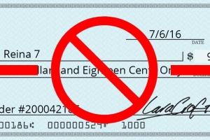 Pronto Setar N.V. no ta acepta pagonan cu cheque mas