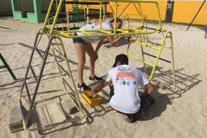 Mas di 4000 voluntario a participa den prome dia di Aruba Doet