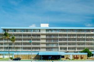 Hospital: Circulacion di aire den varios departamento ta sigui problematico