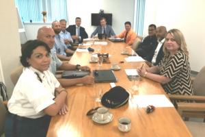 Reunion di gatekeepers tocante seguridad fronterizo di Reino