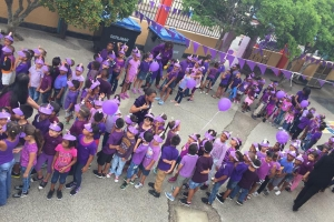 Stichting Epilepsie ta bolbe celebra purple day