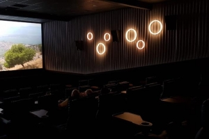The Cinema a introduci su di dos VIP auditorium cu servicio completo ayera