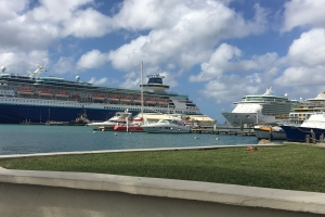 Cinco bapor crucero a trece entre 8 pa 10 mil persona Aruba awe