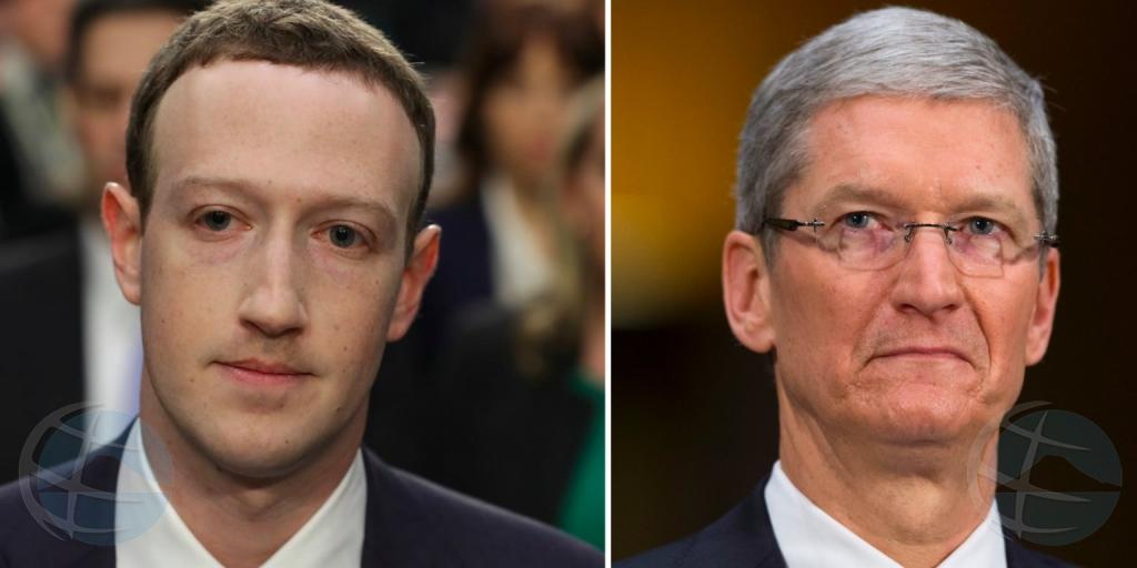 Balor di accion di Apple a cay mas cu e balor completo di Facebook