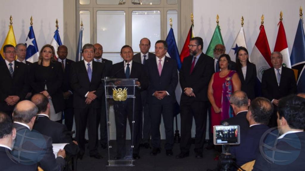 Un total di 13 pais a pidi presidente Nicolas Maduro pa no huramenta otro siman