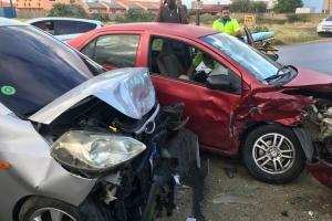 Accidente frontal cu persona herida na Kamerlingh Onnestraat