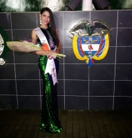 Miss Aruba Hannah Arends ta sali den TOP 3 di Eleccion di Polis