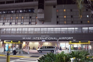 Miami International Aiport tin cu cera un di su terminalnan weekend