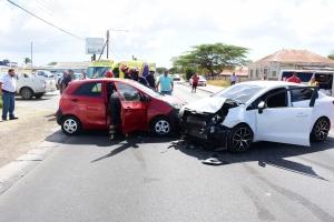 Accidentre cu impacto fuerte na Ponton cu personanan herida