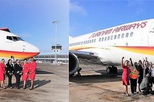 Surinam Airways ta yega Aruba awe cu tripulacion completo femenino