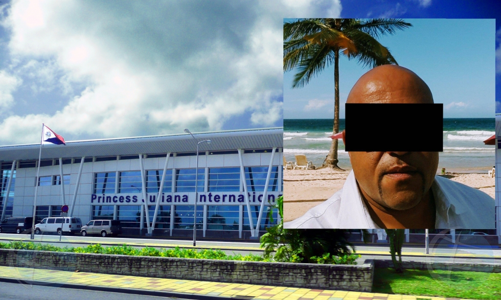 Hefe di seguridad di aeropuerto di St Maarten deteni awemainta
