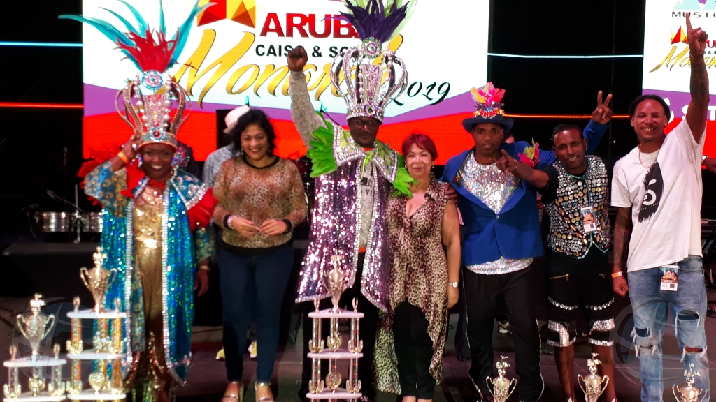 Lady Ambiance y T-Money ganadornan Soca y Caiso Monarch 2019