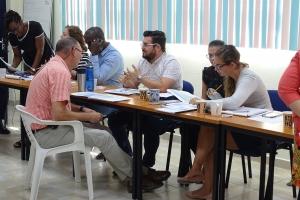 Delegacion di PAHO/WHO Trinidad & Tobago a reuni cu DVG