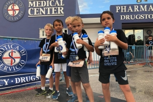 "Di dos careda annual di 5k y 10k ""diabetes walk and run"""