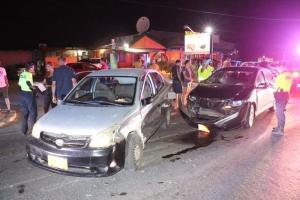 Accidente di trafico na Palm Beach cu un herido