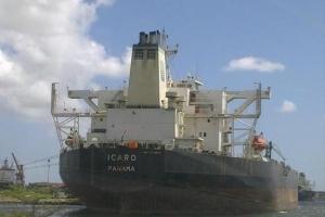 Corte a kita beslag riba tankero Icaro na Corsou