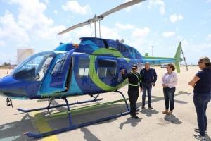 Helicopter pa polis a yega Aruba diasabra merdia