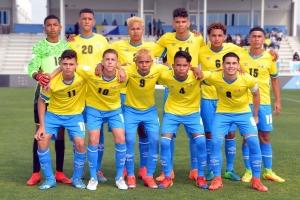 Seleccion U17 di futbol di Aruba ta logra di dos victoria na Merca