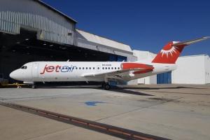 Prome avion di JetAir Caribbean a yega Corsou pendiente nan AOC