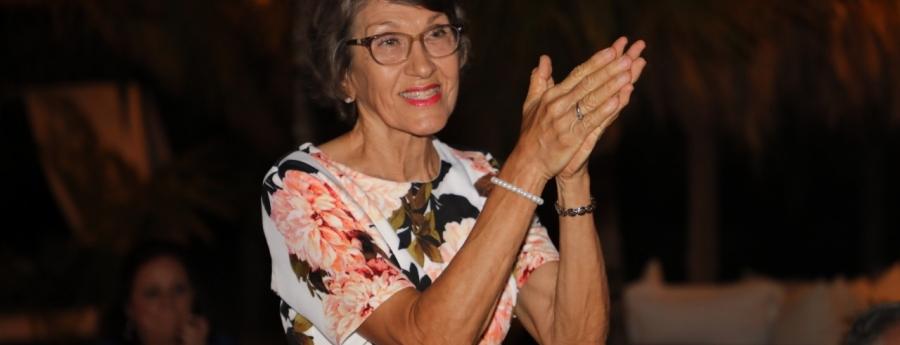 Maybelline Arends-Croes a haya reconocemento pa su aporte na nos Cultura