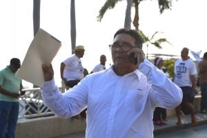 Manifestantenan a exigi e.o, eleccion nobo pronto