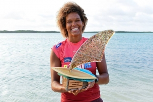 Sarah Quita Offringa ta gana prome competencia Freestyle PWA na Bonaire