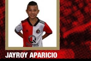 Hoben futbolista di Aruba Jayroy Aparicio ta keda cu Feyenoord