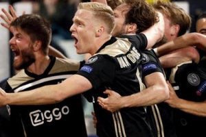 Ajax ta elimina Juventus y ta bay semifinal di Champions League