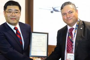 Compania di aviacion charter di Hong Kong ta haya AOC di Aruba