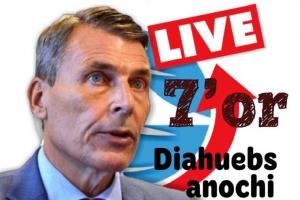 PG van Dam awe nochi den e programa NoticiaCla LIVE
