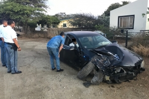 Accidente fuerte na Bubali