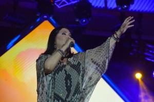 Concierto di Ana Gabriel 'Estamos a tiempo' a complace su publico