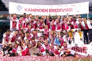 Ajax ta titular campeon di futbol division honor di Hulanda