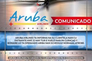 Aruba Airlines Ta Informa
