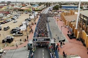 Aruba Bank Walk & Run 2019 a inicia den gran forma na San Nicolas