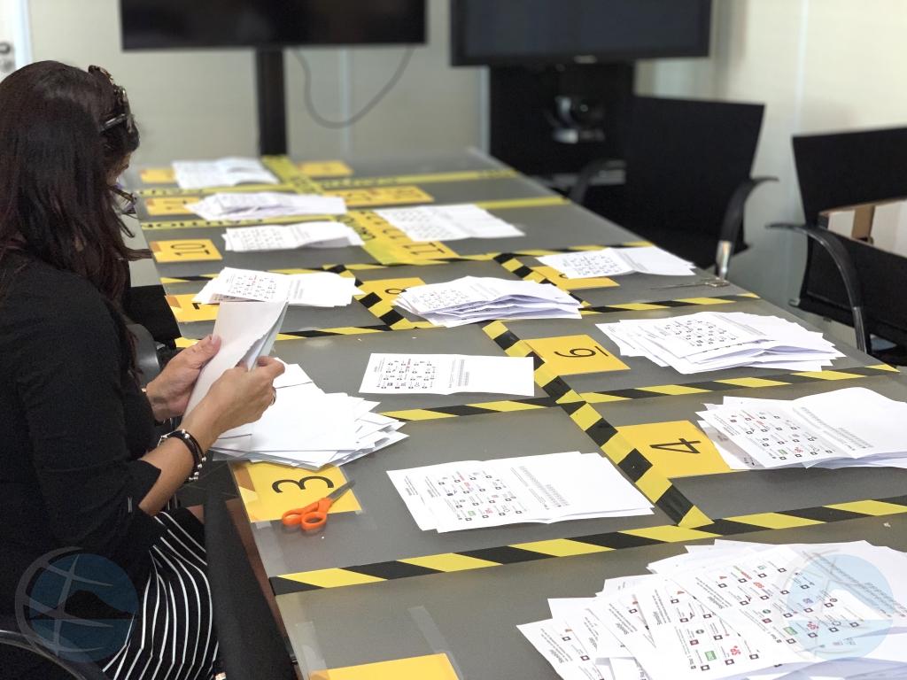 Total di 680 hende a vota na Aruba pa eleccion pa parlamento Europeo