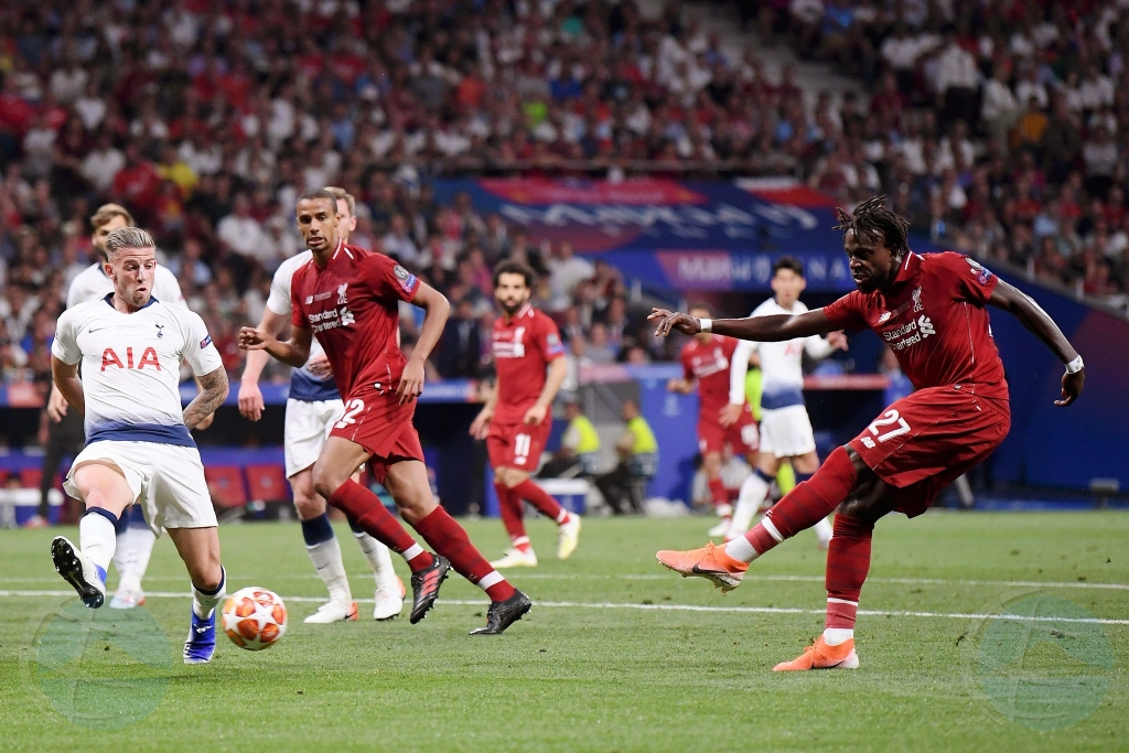 Liverpool ta titula campeon di Champions League