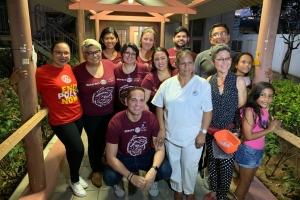 S.A.B.A. Oranjestad y Rotaract Club a presenta un show di moda