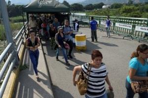 Venezuela a habri frontera bek cu Colombia diasabra